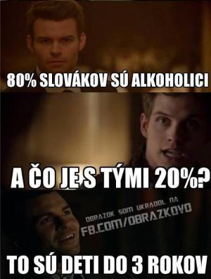 80% slováků