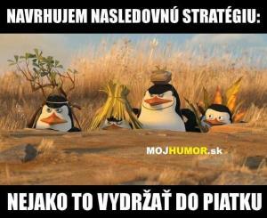 Následující strategie :D
