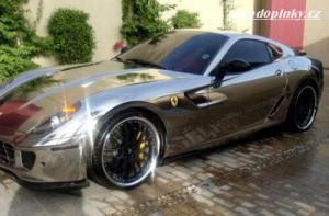 Ferrari po chromování ;)
