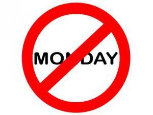 Nesnáším pondělí