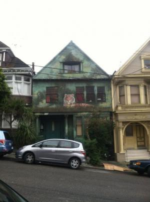 Pomalovaný dům