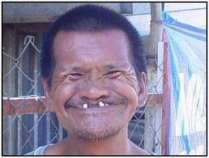 Sympatický úsměv