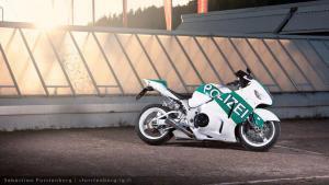 policejní motorka