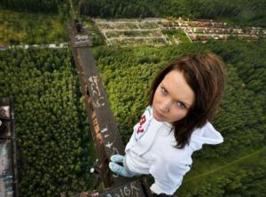Slečna - nebezpečí ve výšce