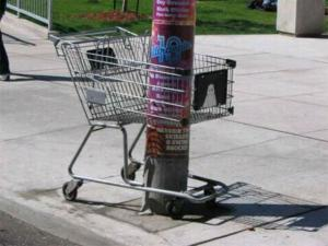 Zabezpečený košík