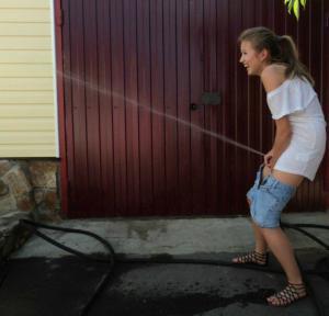 Vodní stříkání