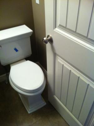 Dveře od WC