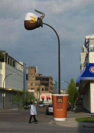 Originální pouliční lampa