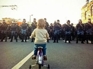 Malý demonstrant