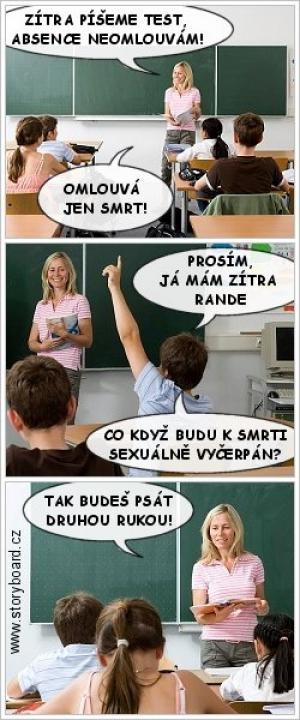 Učitelka zabila