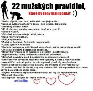 Mužská pravidla