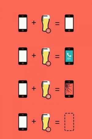 Pivo a telefon