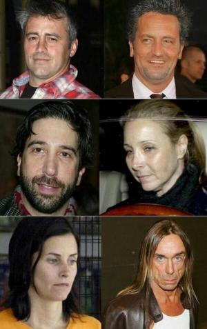 Herci zo seriálu Přátelé