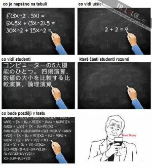 Jak to chodí ve škole
