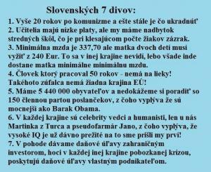 7 divů Slovenska