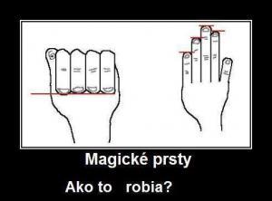 Magické prsty