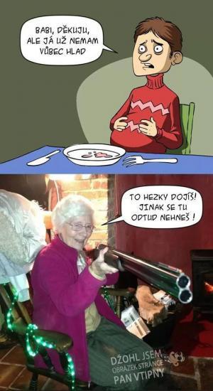 Na návštěvě u babičky