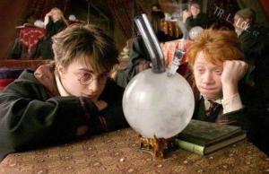 Zhulený Ron a Harry