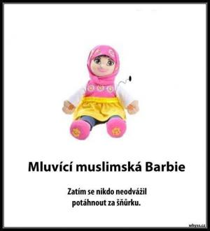 Muslimská Barbie