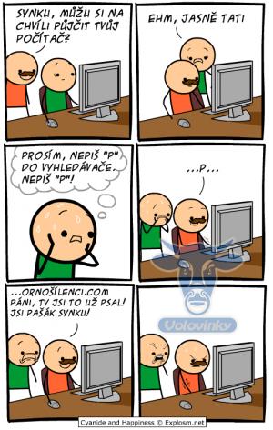 Táta na tvém počítači