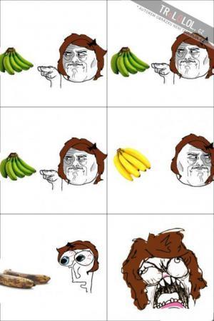 Jak to chodí s banány