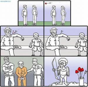 Amorek se netrefil