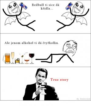Redbull vs alkohol