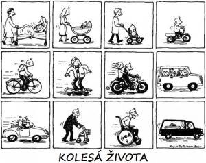 Život na kolech