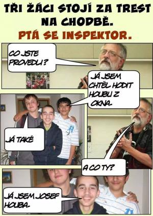 Inspektor ve škole