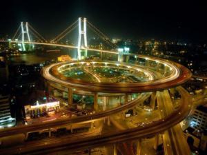 Most Nanpu v Číně