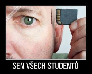 Sen studentů