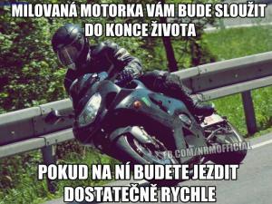Něco pro motorkáře