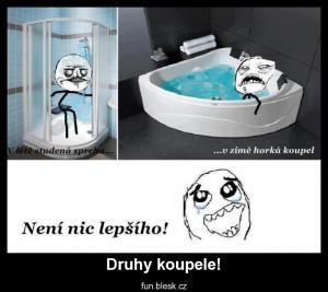 Druhy koupele!