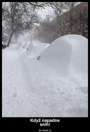 Když napadne sníh!