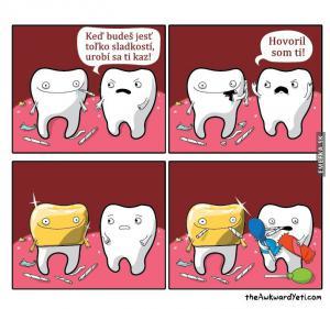Když se baví zub se zubem