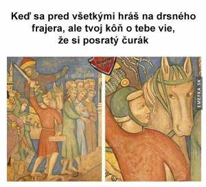 Kůň ví všechno