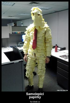 Samolepící papírky