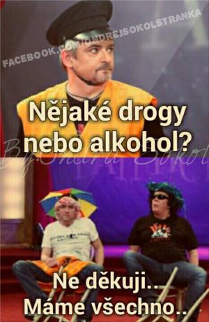 Drogy nebo alkohol