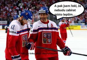 Celý hokej je jen sranda