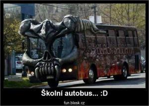Školní autobus snů