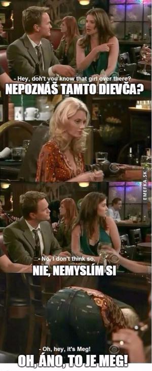 Neznáš tu holku?