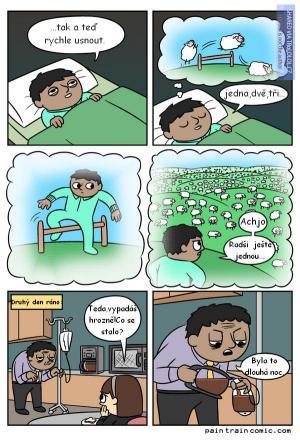 Když nemůžete usnout...