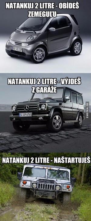 Není auto jako auto