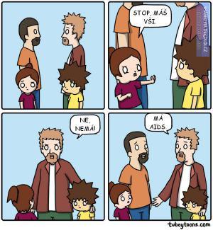Můj syn nemá vši!