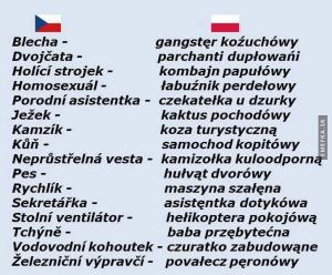 Česko-Polský slovníček