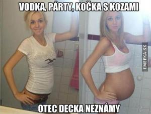 Vodka, párty a pěkná baba