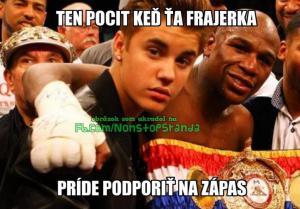 Bieber podrží