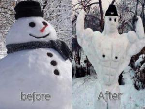Před a po:D