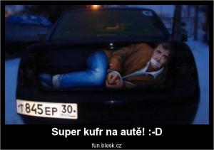Super kufr na autě! :-D