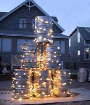 Letní vánoční stromeček